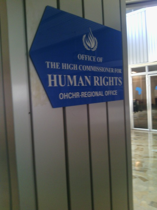 To the OHCHR
